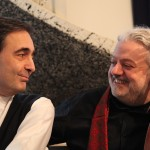 Paul Gulda und Marwan Abado Foto: Silvia Grossmann www.paulgulda.com/download Honorarfreie Nutzung bei Nennung des Fotografen